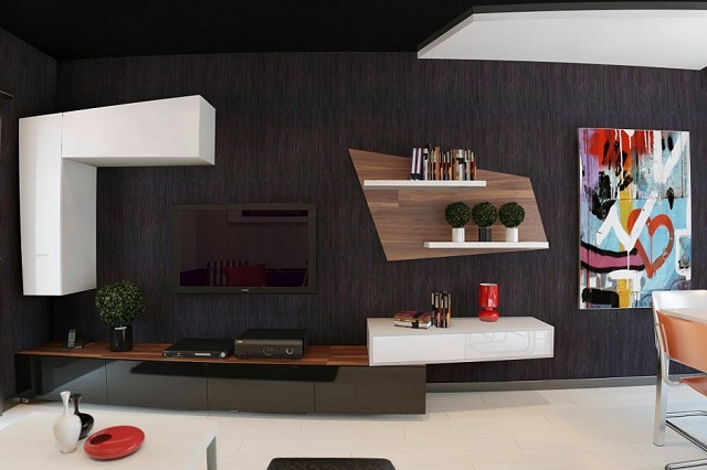 Black: Create a dramatic and beautiful space