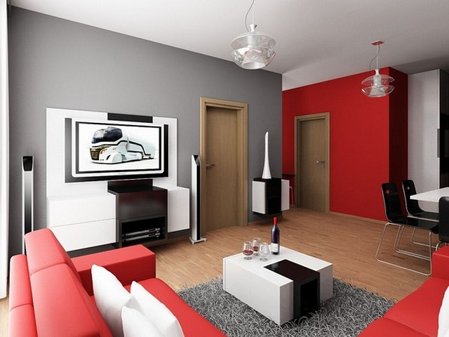 Modern small apartment Get the best out of a small space Get the best out of a small space modern minimalist small apartment living room ideas