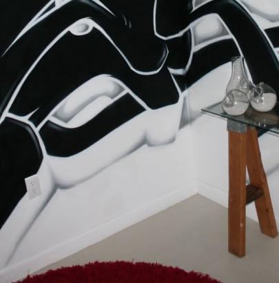 """Graffiti Decor"" 10 Amazing Decorating Ideas for home with Graffiti 10 Amazing Decorating Ideas for home with Graffiti 6 405x410"