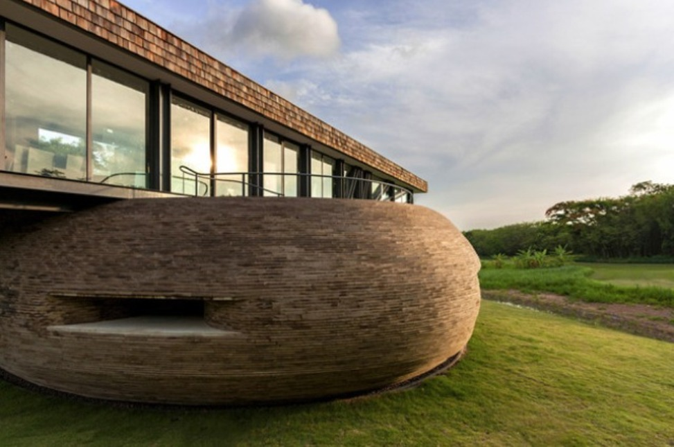 """""""wooden house design european and asian architectural"""" Modern Wooden House Design Combine Asian and European Architectural Modern Wooden House Design Combine Asian and European Architectural side view wooden house design combine european and asian architectural"""