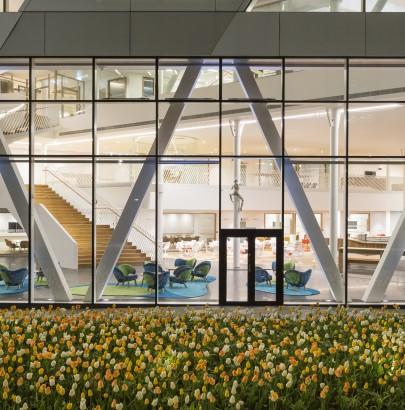 """Swedbank headquarter designed by 3xn"""