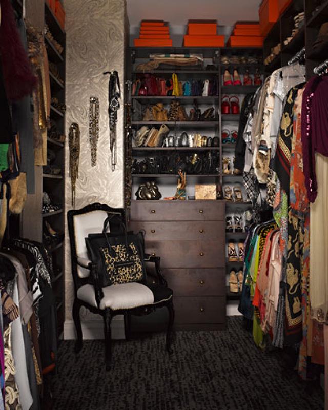 """Kim Kardashian's closet"" Most Amazing and Luxurious Celebrity Closets Most Amazing and Luxurious Celebrity Closets 8"