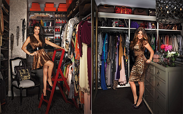"""Kim Kardashian's closet"" Most Amazing and Luxurious Celebrity Closets Most Amazing and Luxurious Celebrity Closets 9"