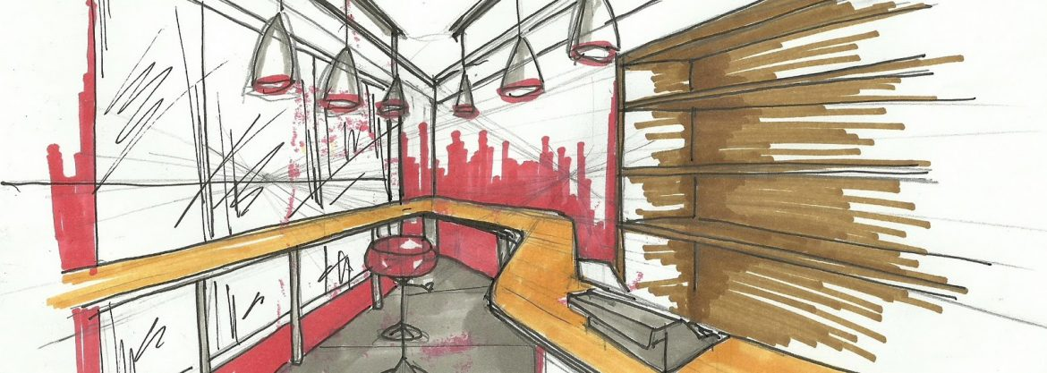 """15 Must Know Interior Designers in Toronto"" 15 Must Know Interior Designers in Toronto 15 Must Know Interior Designers in Toronto interior design sketches interior design my sketches for current project milk bar"