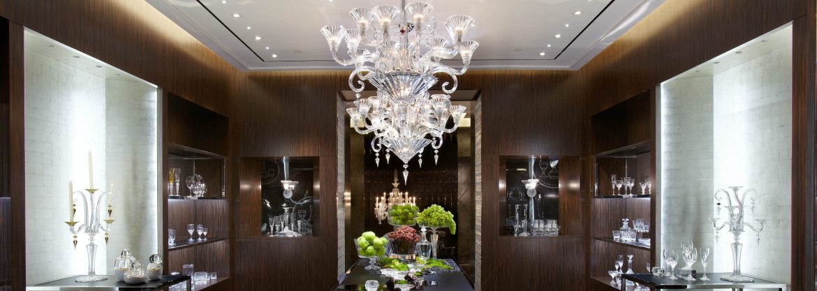 """""""Interior design trends: Top 10 modern chandeliers"""" Interior design trends: Top 10 modern chandeliers Interior design trends: Top 10 modern chandeliers Baccarat NYC Flagship Dining Room"""