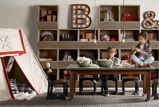 top modern and vintage playrooms