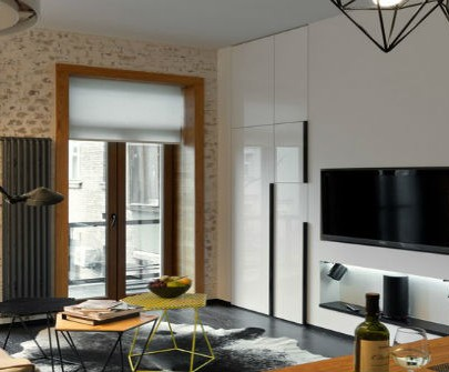 How to make a top contemporary design in a small apartment