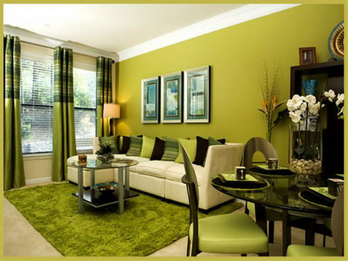 modern green living room colors ideas for modern decoration yellow and green 856