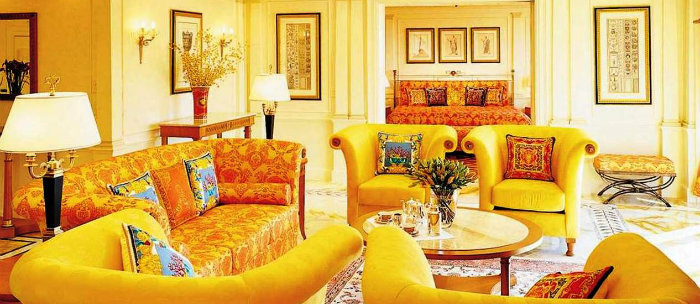 Ideas for modern spring decoration: yellow and green Ideas for modern spring decoration: yellow and green Ideas for modern spring decoration: yellow and green modern home decor inspirational light living room with yellow color walls and furniture