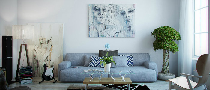 Home Decorating With Modern Art Amazing Artwork To Try Right Now