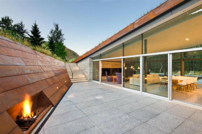 The Example of Contemporary Architecture in Colorado The Example of Contemporary Architecture in Colorado The Example of Contemporary Architecture in Colorado modern home decor The Example of Contemporary Architecture in Colorado roofs private terrace
