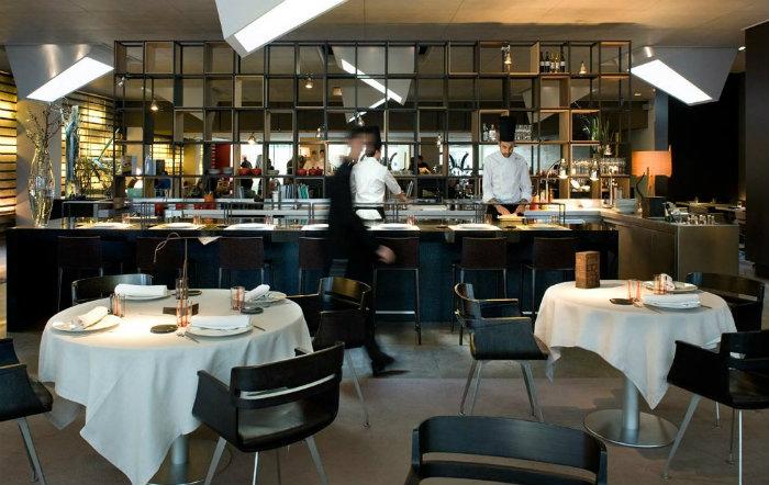 Modern restaurant interior design around the world - Maison decor barcelona ...
