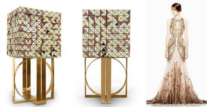 мода и мебель Вдохновение дизайном - мода и мебель modern home decor fashion and design inspirations boca do lobo