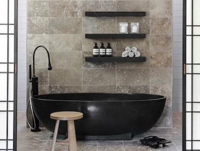 Great Black Bathtubs Indulgence