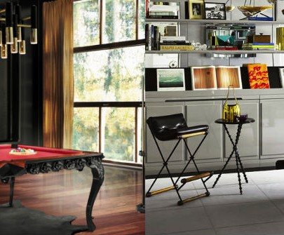 Modern Home Decor playing tables