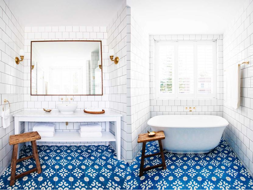 Bathroom design ideas: 5 amazing floor tiles bathroom design ideas Bathroom design ideas: 5 amazing floor tiles 5bathroomtiles 1