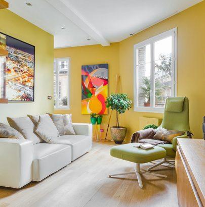 """THE SHIFT"", A MODERN HOME IN PARIS"