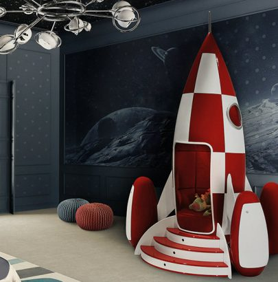 8 IDEAS FOR FUN AND CREATIVE KIDS' ROOM kids' room 8 IDEAS FOR FUN AND CREATIVE KIDS' ROOM rockyrocket  405x410