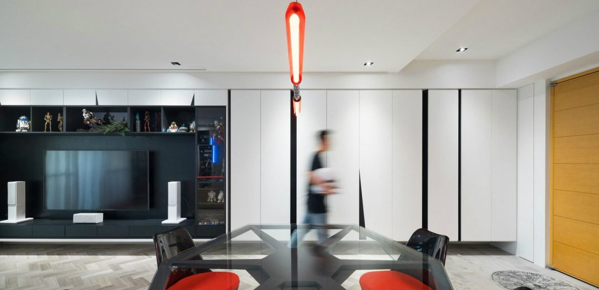 A Star Wars Themed Apartment In Taiwan By White Interior Design
