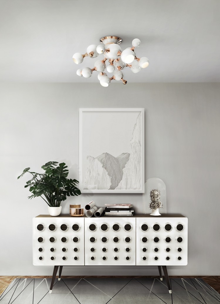 MID-CENTURY MODERN PENDANT LAMPS FOR YOUR LIVING ROOM