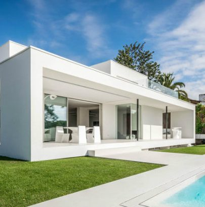 Grandma's house is now a modern luxurious home near Barcelona