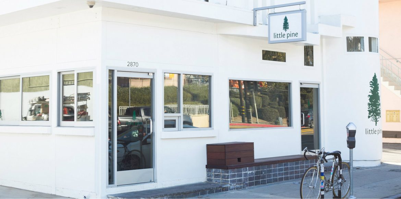 moby u0027s little pine vegan cafe has a mid century modern style