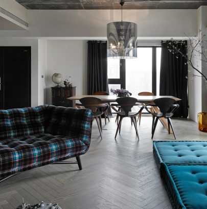 House Tour: An eclectic apartment renovation in Taiwan