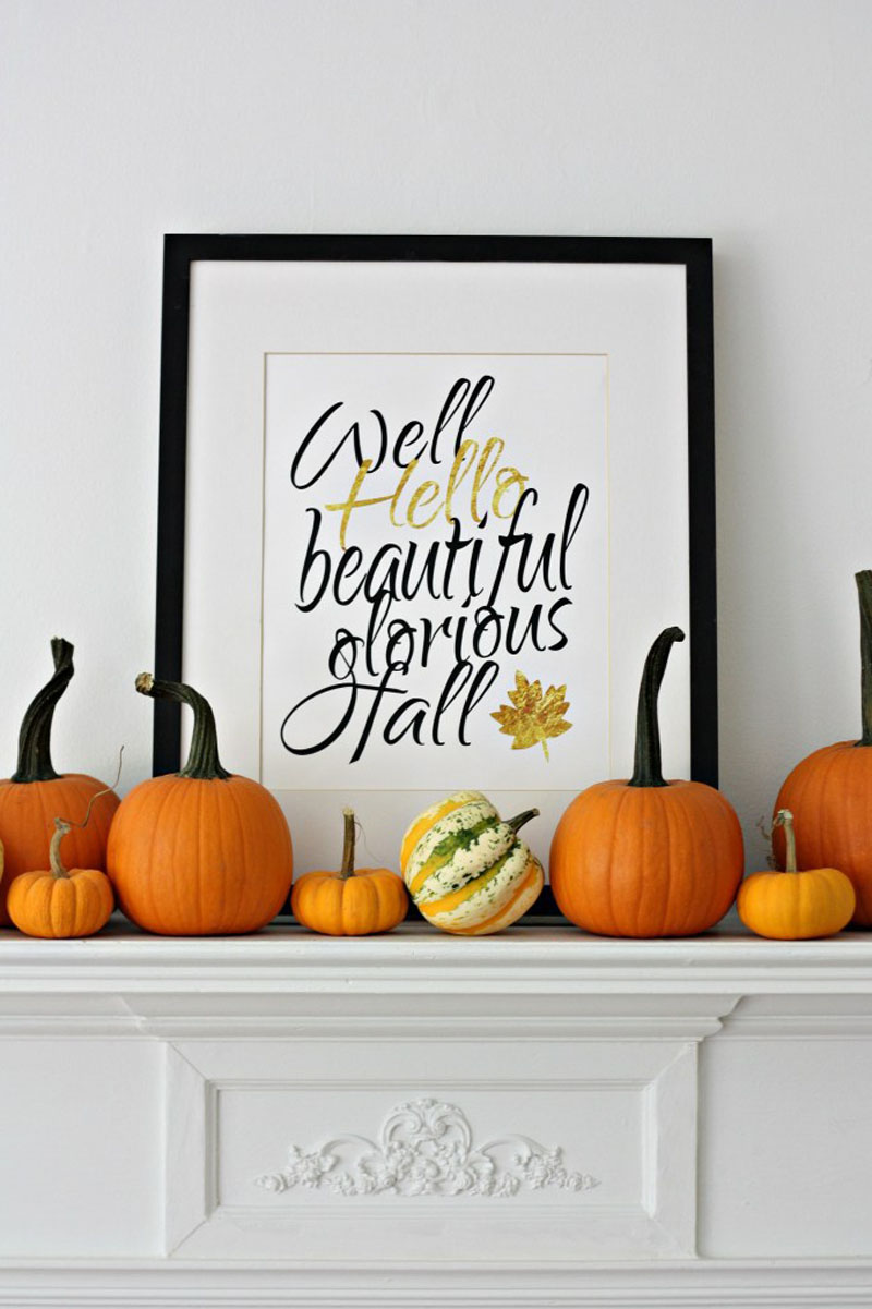Welcome, Fall: 8 ideas for bringing fall decor into your home fall decor Welcome, Fall: 8 ideas for bringing fall decor into your home fall decor 041016 07b