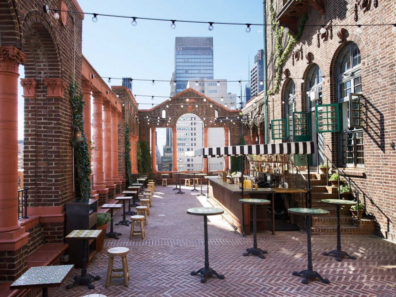 New York New York Top 8 Rooftop Bars Modern Home Decor