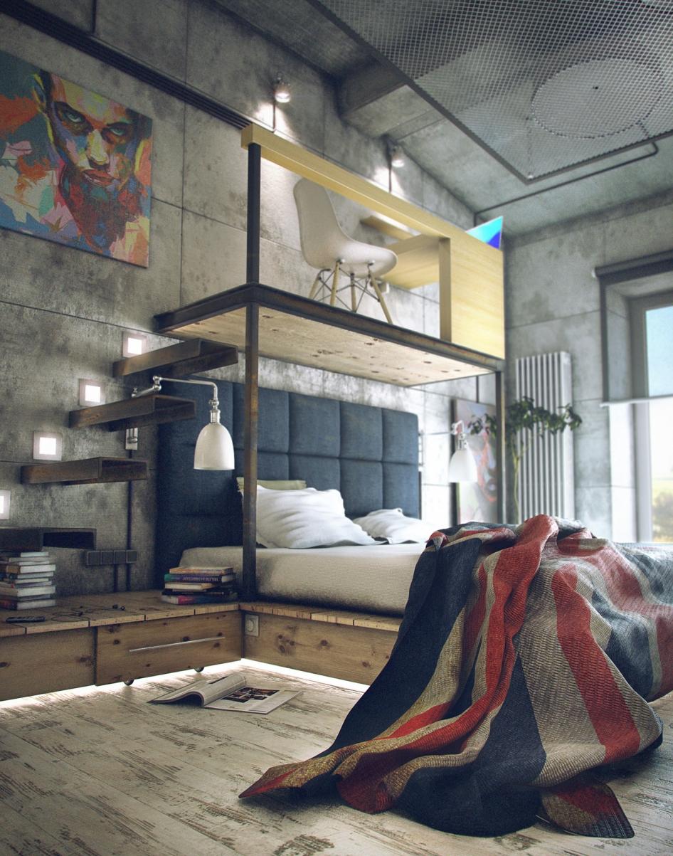 10 Industrial Interior Design Ideas