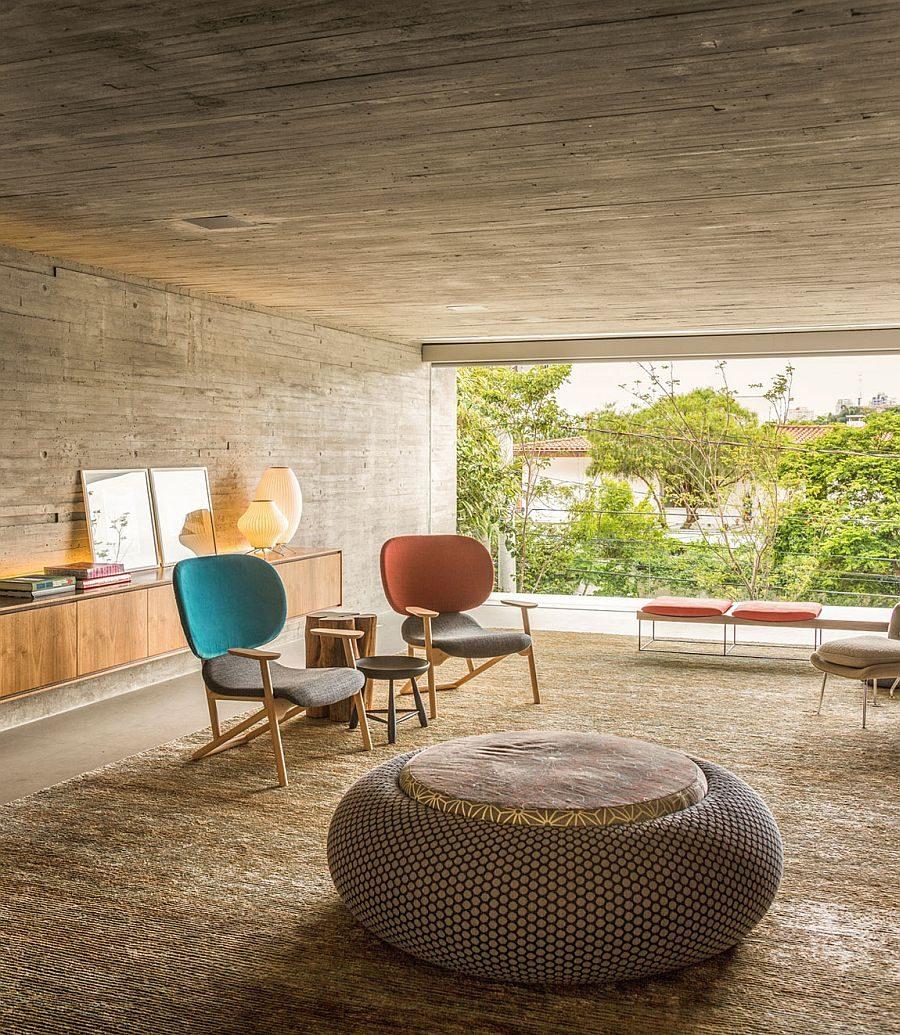 8 Mid-century modern living rooms  mid-century modern 8 Outstanding Mid-century Modern Living Rooms 8 Mid century modern living rooms 3