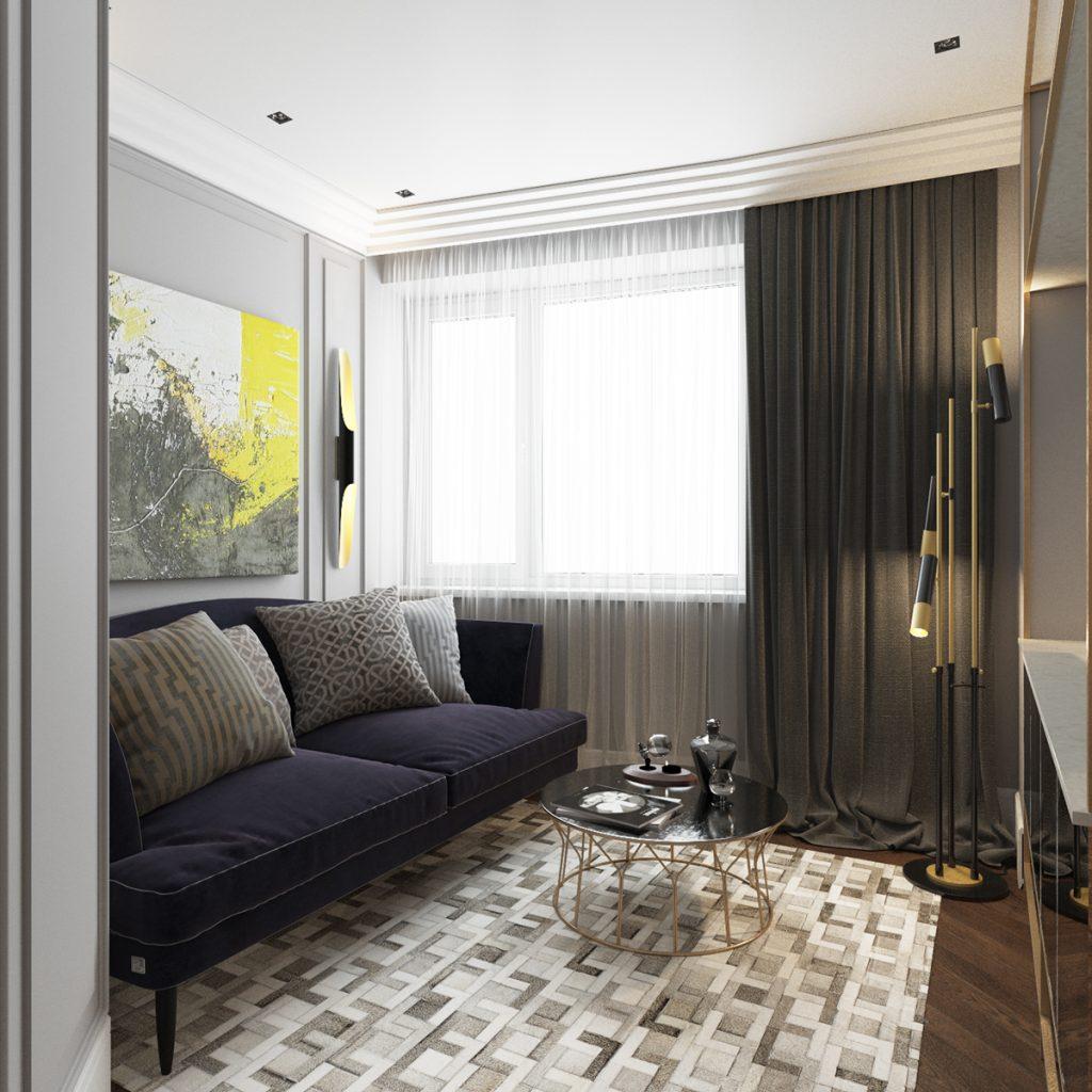 8 Mid-century modern living rooms  mid-century modern 8 Outstanding Mid-century Modern Living Rooms 8 Mid century modern living rooms 6