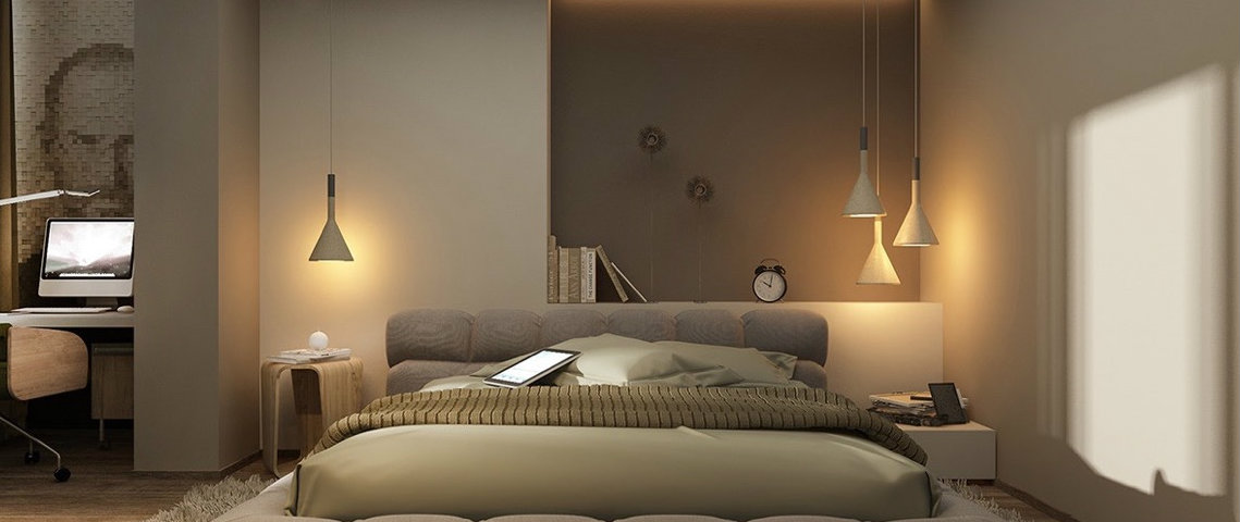 contemporary lighting ideas for a modern bedroom design 12599 | contemporary lighting ideas for a modern bedroom design 6