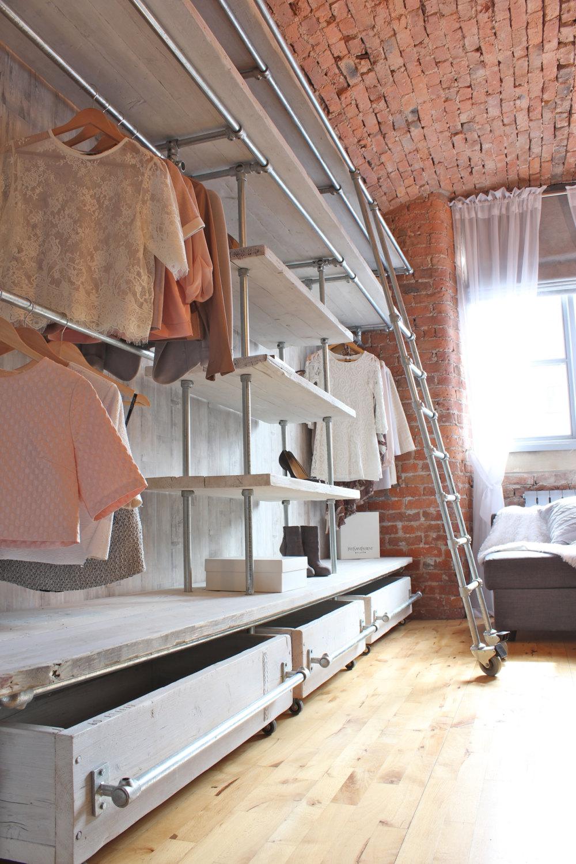 Home Furniture: 10 Industrial Style Closet Designs closet designs Think Different: Industrial Style Closet Designs Home Furniture 10 Industrial Style Closet Designs4