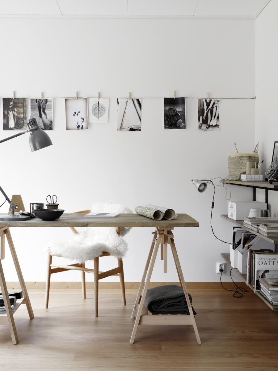 Unique table lamps inside Scandinavian_interiors