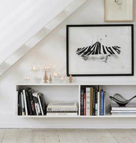 Unique table lamps inside Scandinavian interiors