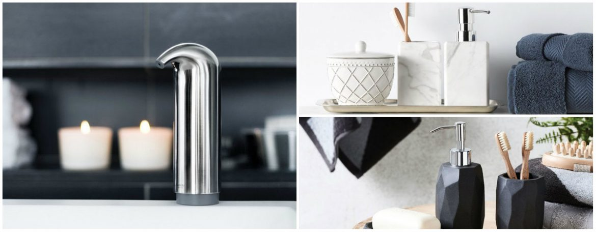 10 sophisticated soap dispensers to step up your bathroom decor
