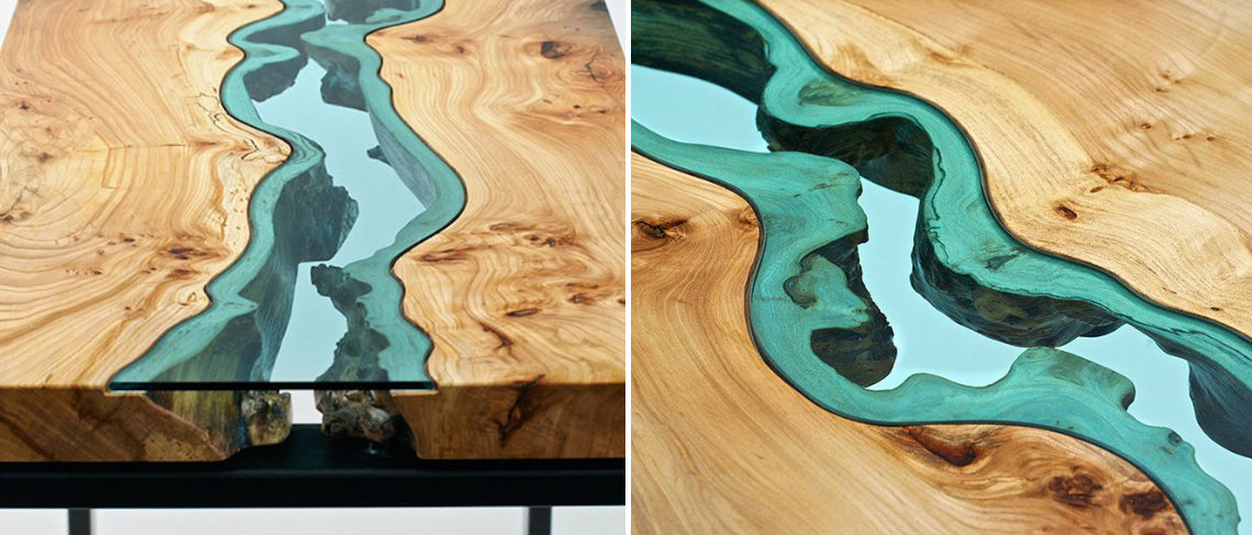 STUNNING WOODEN COFFEE TABLE WITH GLASS RIVERS AND LAKES coffee table STUNNING WOODEN COFFEE TABLE WITH GLASS RIVERS AND LAKES STUNNING WOODEN COFFEE TABLE WITH GLASS RIVERS AND LAKES f