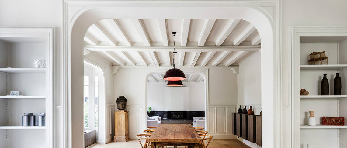 Stunning Modern Makeover Inside A 19th Century Home in Paris