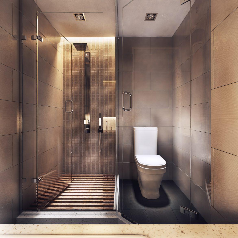 Luxurious_Apartment with Dark Interiors and Stunning Lighting
