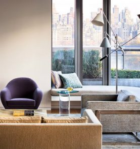 MEET STEVEN HARRIS' MODERN HOME IN CENTRAL PARK WEST