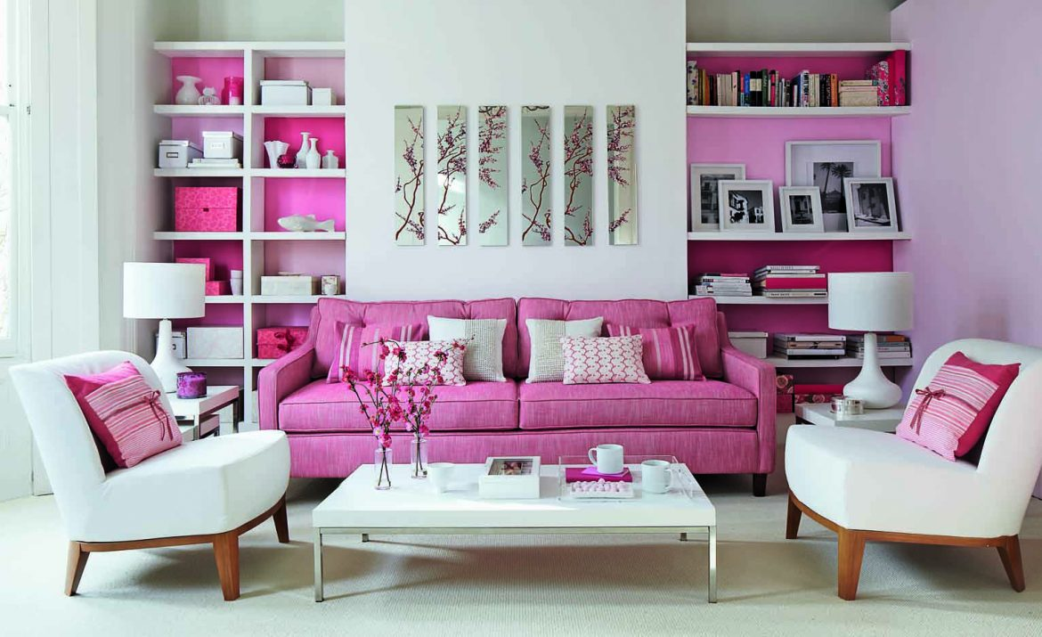 10 stunings ways to color up your home.