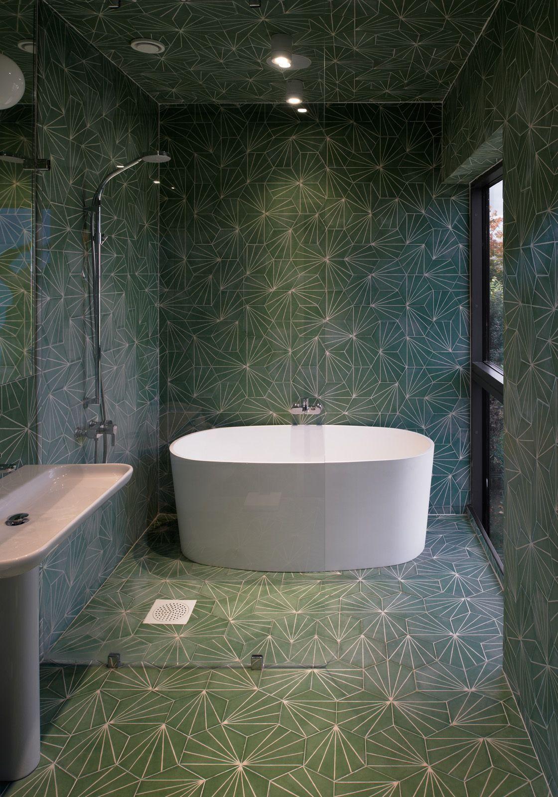 Bathroom Design Ideas: Use the Same Tile On the Floors and ...