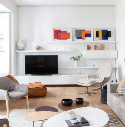 Modern Apartment Interior Design in Madrid
