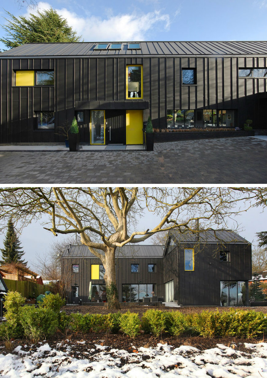black houses Modern Black Houses Around The World Modern Black Houses Around The World 2