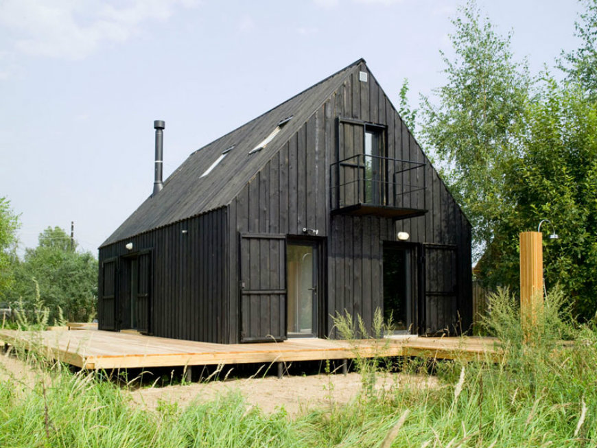 Modern Black Houses Around The World