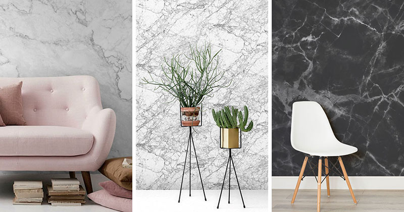 Marble Wallpaper For Your Modern Home