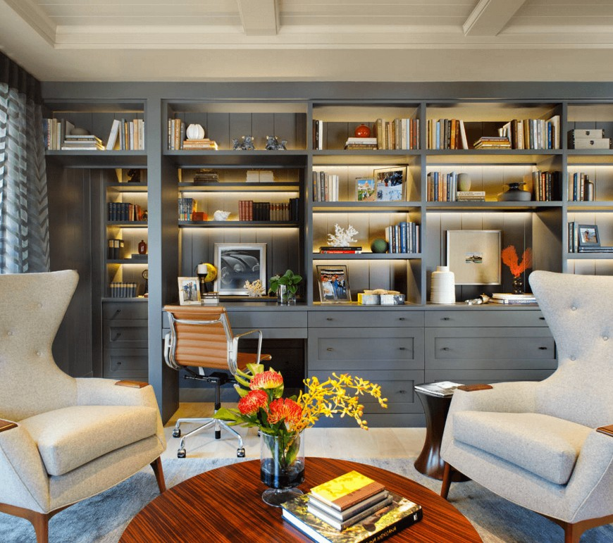 7 HOME OFFICE DECORATING IDEAS