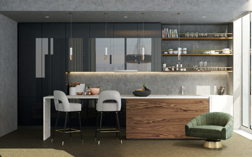 Best Gray Kitchen Ideas For A Chic Space kitchen ideas Best Gray Kitchen Ideas For A Chic Space Best Gray Kitchen Ideas For A Chic Space