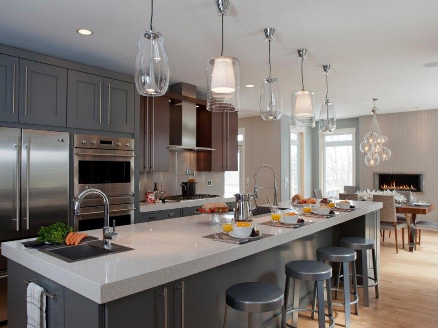 Best Gray Kitchen Ideas For A Chic Space (3) kitchen ideas Best Gray Kitchen Ideas For A Chic Space Best Gray Kitchen Ideas For A Chic SpaceCabinets